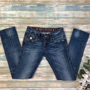 Rock Revival Jen Straight Leg Jeans Sz 27